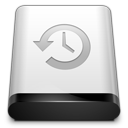 128x128px size png icon of Drive Backup
