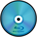 128x128px size png icon of Blue Ray Disc