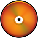 CD Colored Red Icon