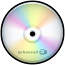 128x128px size png icon of CD Enhanced
