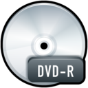 128x128px size png icon of File DVD R