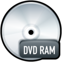 128x128px size png icon of File DVD RAM
