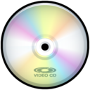 128x128px size png icon of Video CD
