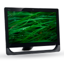 128x128px size png icon of 08 Computer Grass