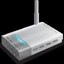 128x128px size png icon of Wifi modem Vista