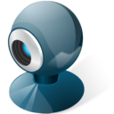 128x128px size png icon of Webcamera