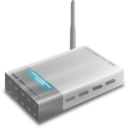 128x128px size png icon of Wifi modem