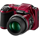 128x128px size png icon of Camera Nikon Coolpix L820 01