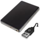 128x128px size png icon of Generic Carry Disk USB 2