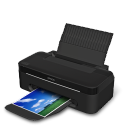 128x128px size png icon of Printer Epson T25