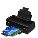 128x128px size png icon of Printer Epson T40W