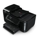 128x128px size png icon of Printer Scanner Photocopier Fax HP OfficeJet 6500