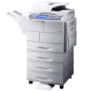 128x128px size png icon of Printer Scanner Photocopier Samsung SCX 6545