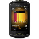 128x128px size png icon of Smartphone Sony Live with Walkman WT19a 02