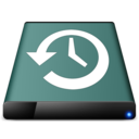 128x128px size png icon of diskicon   time machine