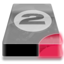 128x128px size png icon of Drive 3 br bay 2