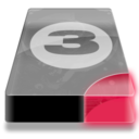 128x128px size png icon of Drive 3 br bay 3