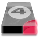 128x128px size png icon of Drive 3 br bay 4