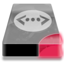 128x128px size png icon of Drive 3 br network lan