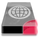 128x128px size png icon of Drive 3 br network webdav