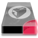 128x128px size png icon of Drive 3 br toaster
