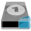 128x128px size png icon of Drive 3 cb bay 1