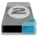 128x128px size png icon of Drive 3 cb bay 2