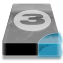 128x128px size png icon of Drive 3 cb bay 3