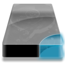 128x128px size png icon of Drive 3 cb clean
