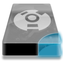 128x128px size png icon of Drive 3 cb external firewire