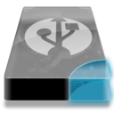128x128px size png icon of Drive 3 cb external usb