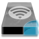 128x128px size png icon of Drive 3 cb network wlan