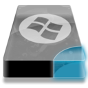 128x128px size png icon of Drive 3 cb system dos