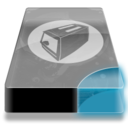 128x128px size png icon of Drive 3 cb toaster