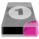 128x128px size png icon of Drive 3 pp bay 1