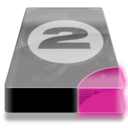 128x128px size png icon of Drive 3 pp bay 2