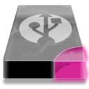 128x128px size png icon of Drive 3 pp external usb