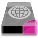 128x128px size png icon of Drive 3 pp network webdav