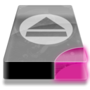 128x128px size png icon of Drive 3 pp removable