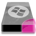 128x128px size png icon of Drive 3 pp system dos