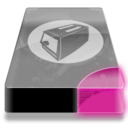 128x128px size png icon of Drive 3 pp toaster