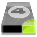 128x128px size png icon of Drive 3 sg bay 4