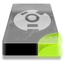 128x128px size png icon of Drive 3 sg external firewire