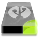128x128px size png icon of Drive 3 sg external usb