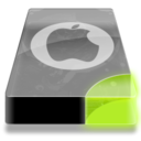 128x128px size png icon of Drive 3 sg system apple