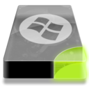128x128px size png icon of Drive 3 sg system dos