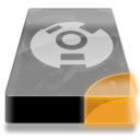 128x128px size png icon of Drive 3 uo external firewire