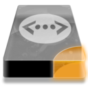 128x128px size png icon of Drive 3 uo network lan