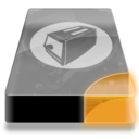 128x128px size png icon of Drive 3 uo toaster