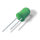 128x128px size png icon of LED